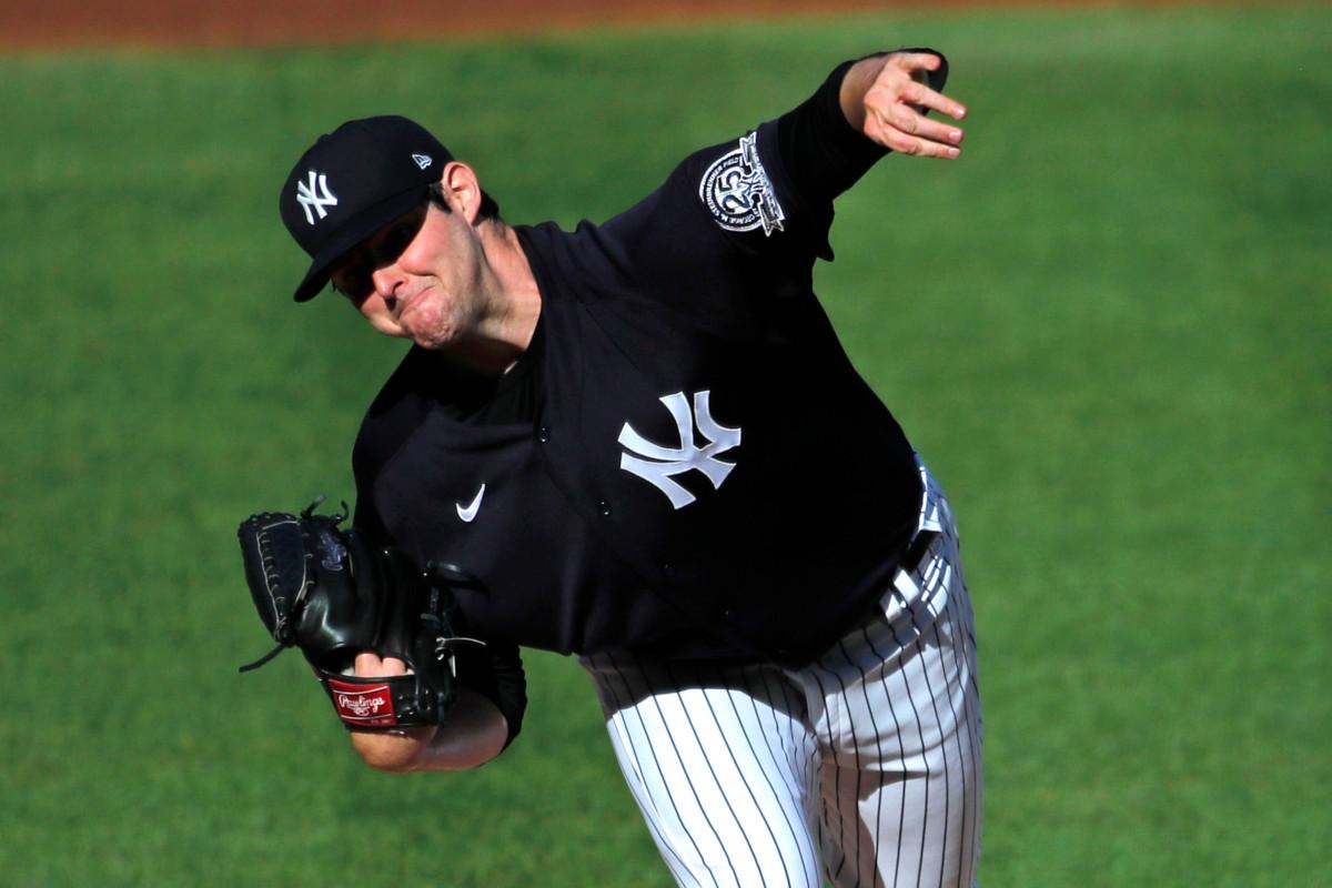Jordan Montgomery de los Yankees listo para lanzar el Juego 6
