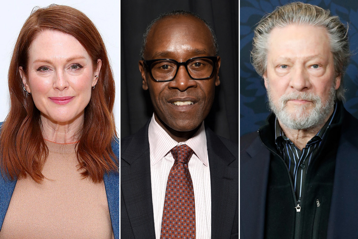 "Julianne Moore, Don Cheadle, Chris Cooper y más elegidos para la antología de encierro ""With / In"""