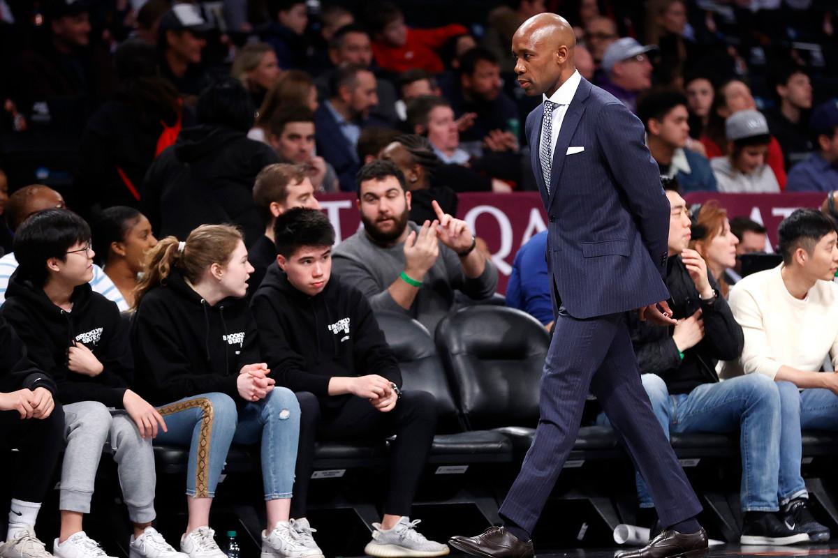 La audición de Jacque Vaughn como entrenador de los Nets está lejos de ser ideal en la burbuja de la NBA