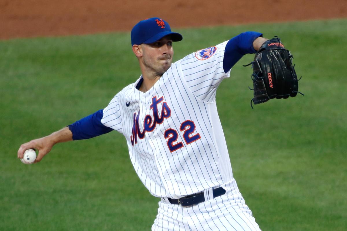 La salida de los Mets de Rick Porcello herida por un mal lanzamiento a Clint Frazier