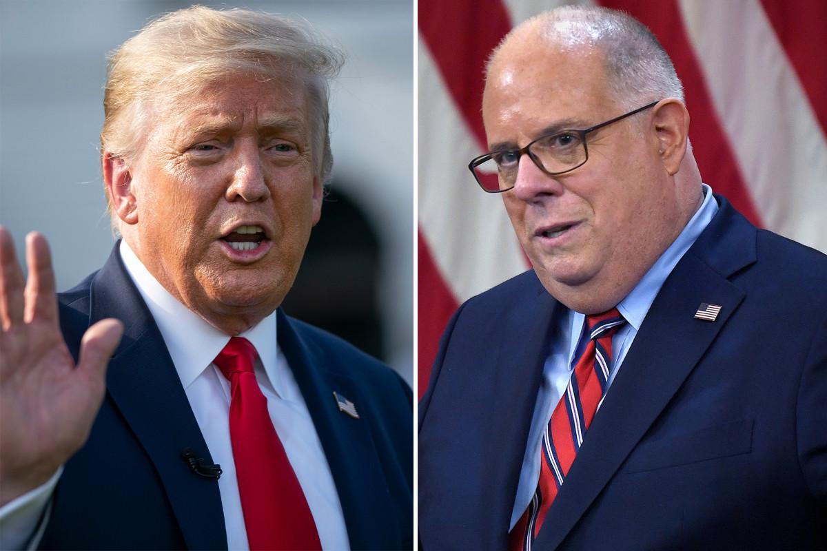 Larry Hogan dice que el miembro del personal de Trump me instó a correr en las primarias