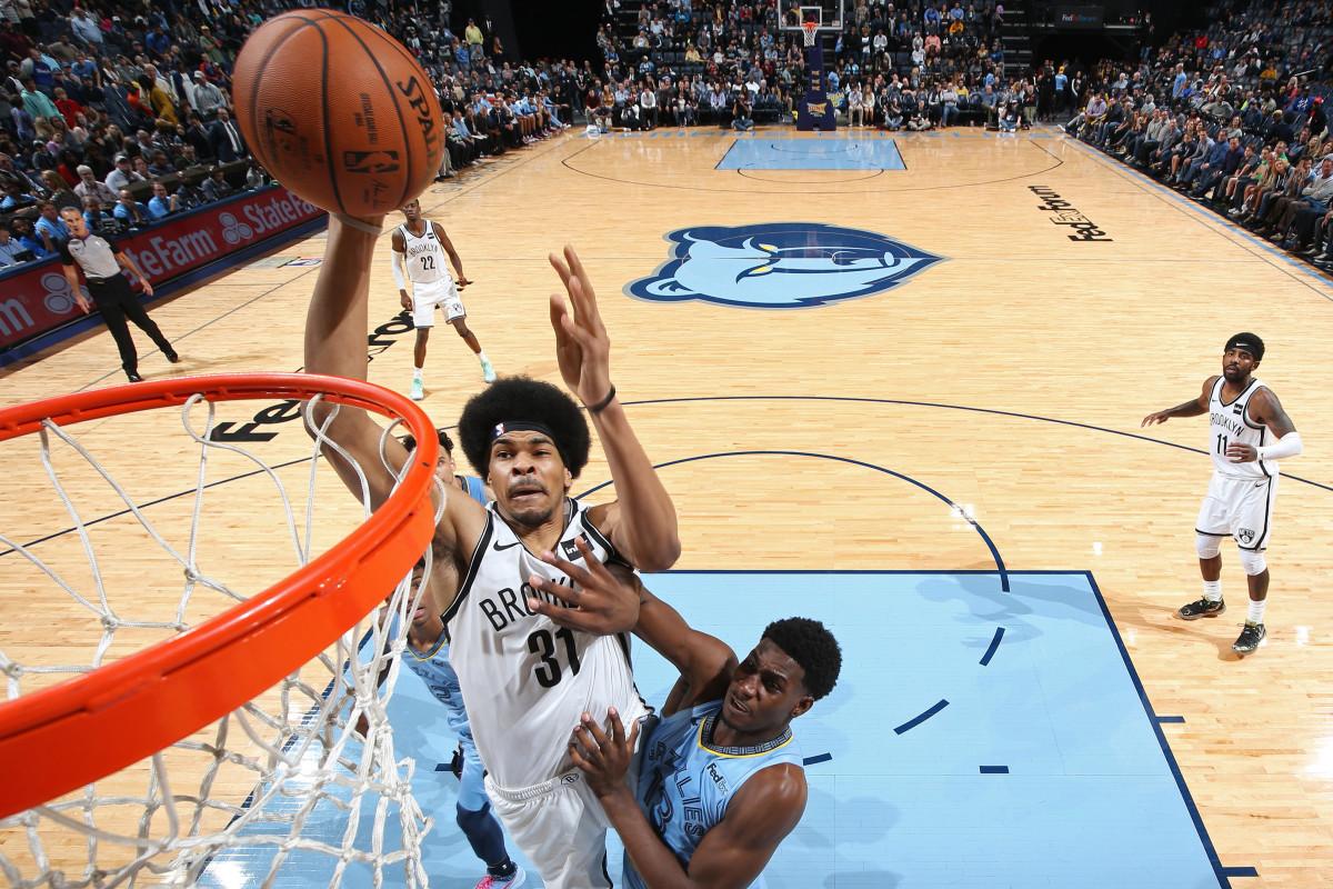 Las redes planean obtener refuerzos de Jarrett Allen para reiniciar la NBA