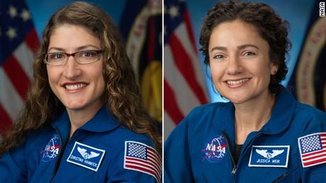 Las astronautas Christina Koch y Jessica Meir completan con éxito la primera caminata espacial femenina