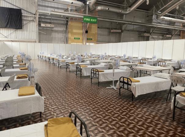 BIEC se convertirá en el centro de atención COVID más grande de India