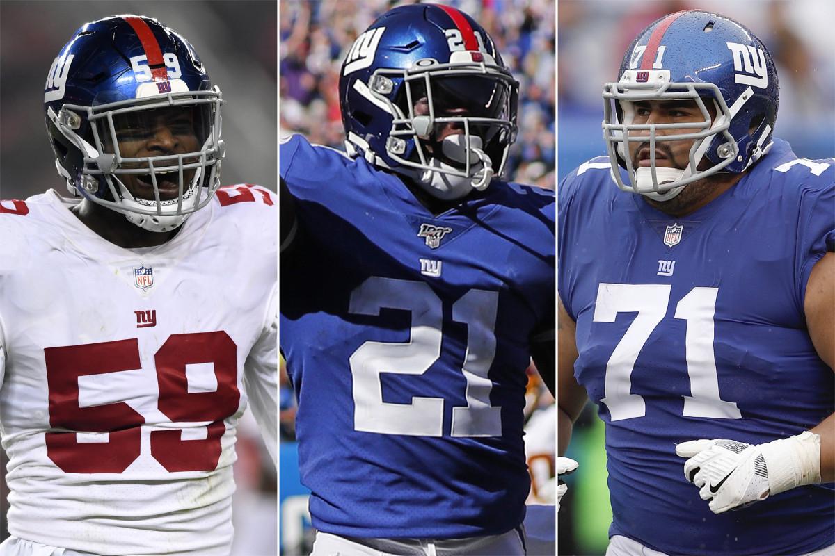 Los jugadores de los Gigantes con más que demostrar durante la temporada 2020 de la NFL