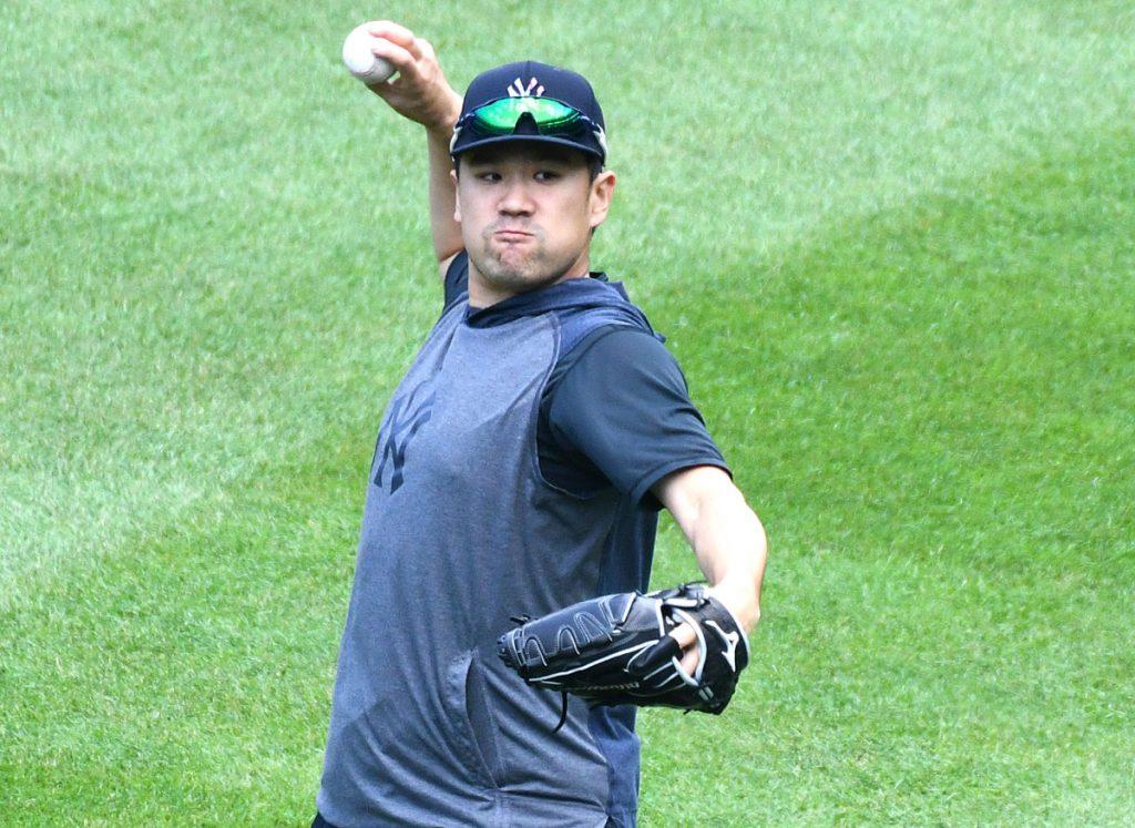 Masahiro Tanaka es fuerte a cambio, pero los Yankees ofrecen un toque de precaución