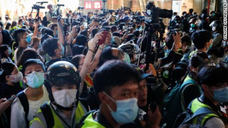 La ley de seguridad de Hong Kong podría tener un efecto negativo en la libertad de prensa