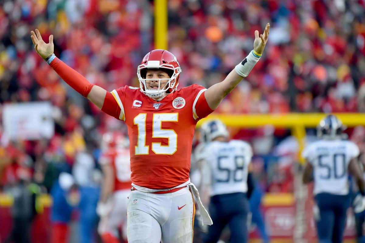 Patrick Mahomes de los Chiefs reacciona al histórico contrato de la NFL
