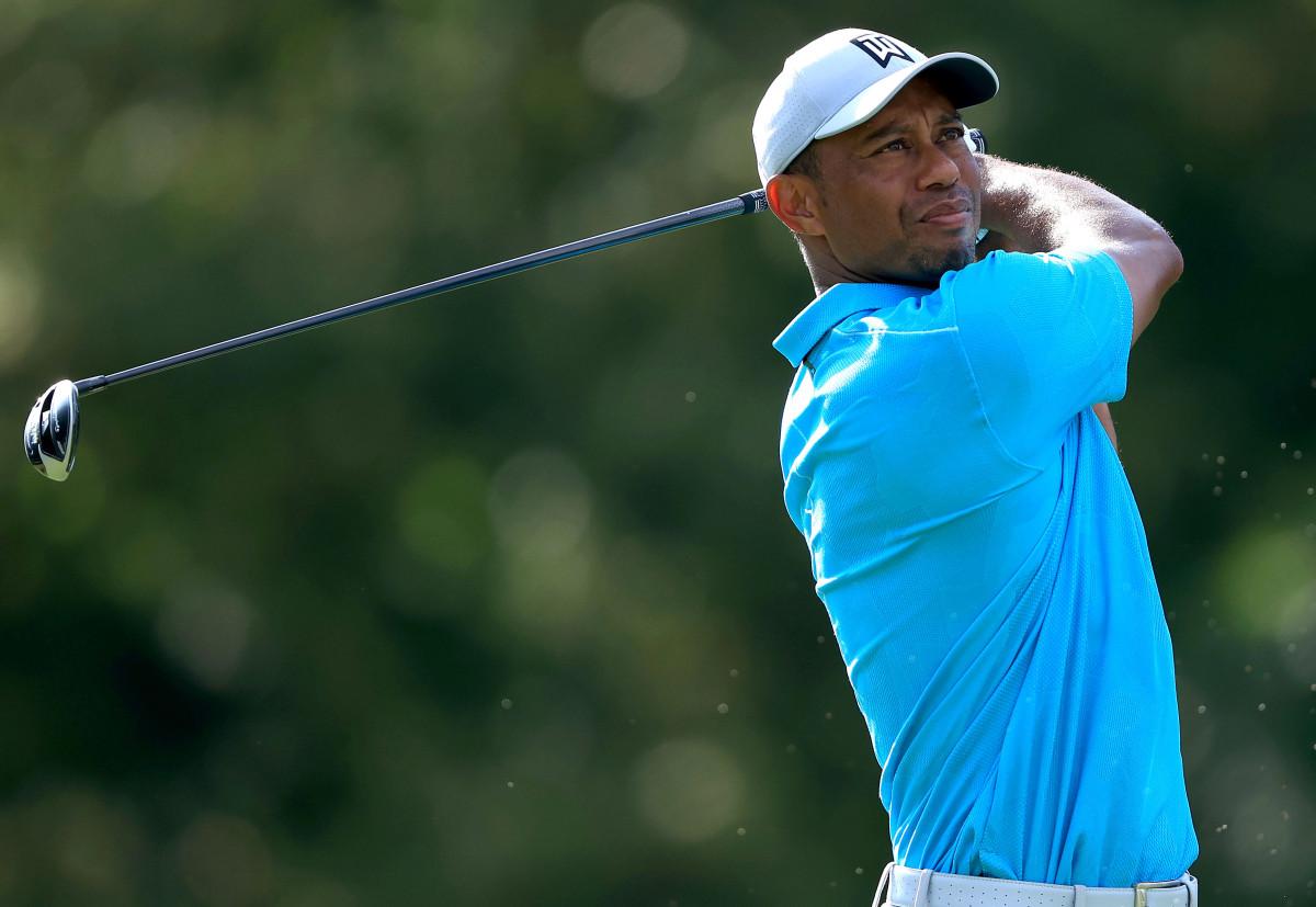 Ronda conmemorativa de Tiger Woods rodeada de silencio, una sensación espeluznante
