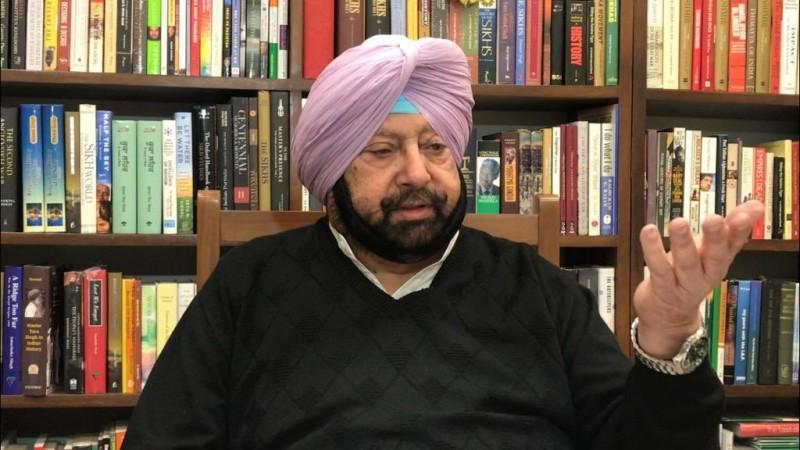 Capitán Amarinder Singh
