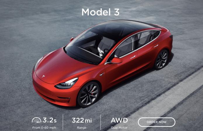Tesla 3 llegará pronto a India