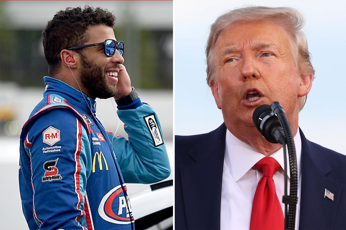 Trump pregunta si Bubba Wallace de NASCAR lamenta el 'engaño' de la soga