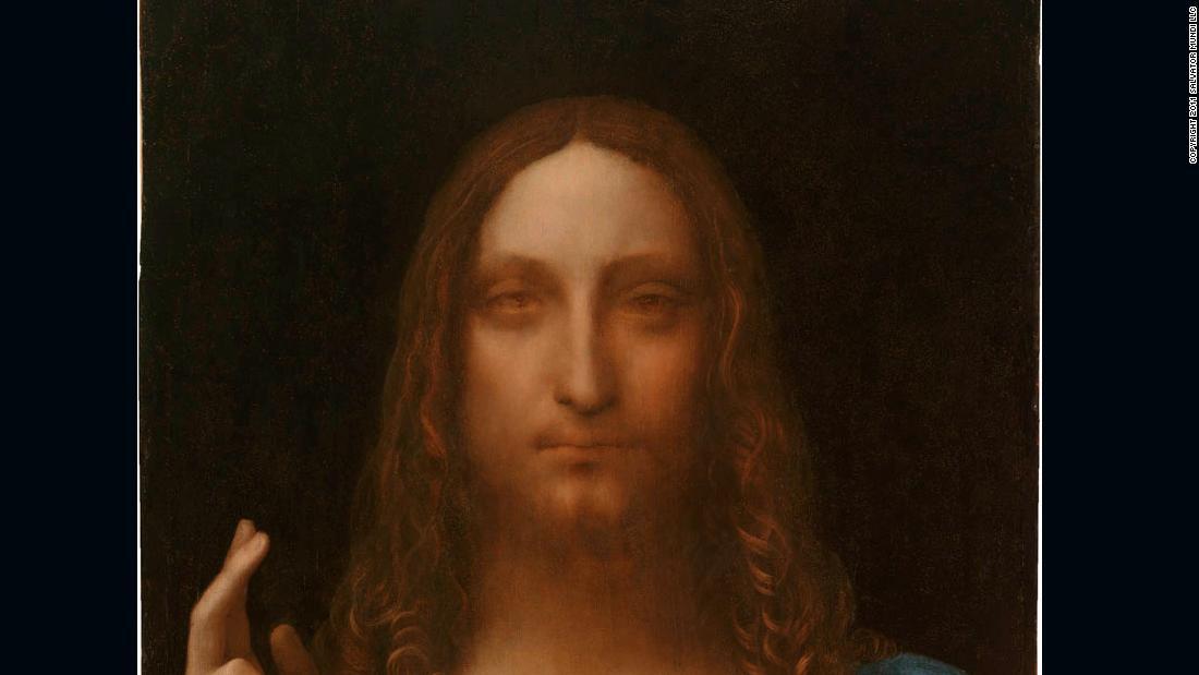 La pintura redescubierta de Leonardo da Vinci 'Salvator Mundi' está recibiendo el tratamiento de Broadway