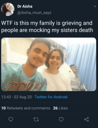 Dr. Aisha tuitea