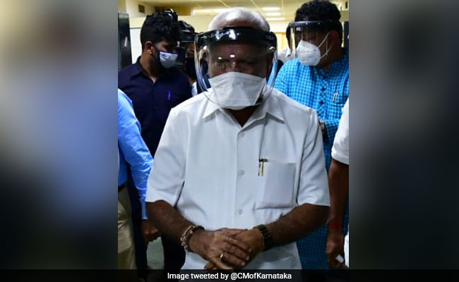 "BS Yediyurappa Coronavirus Positivo: ""Covid positivo probado, siendo hospitalizado"": BS Yediyurappa de Karnataka"