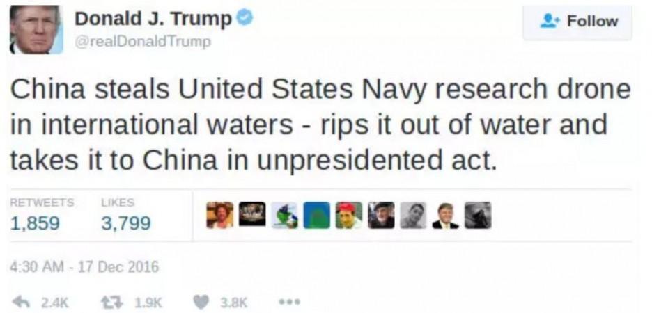 Tweet de Trump
