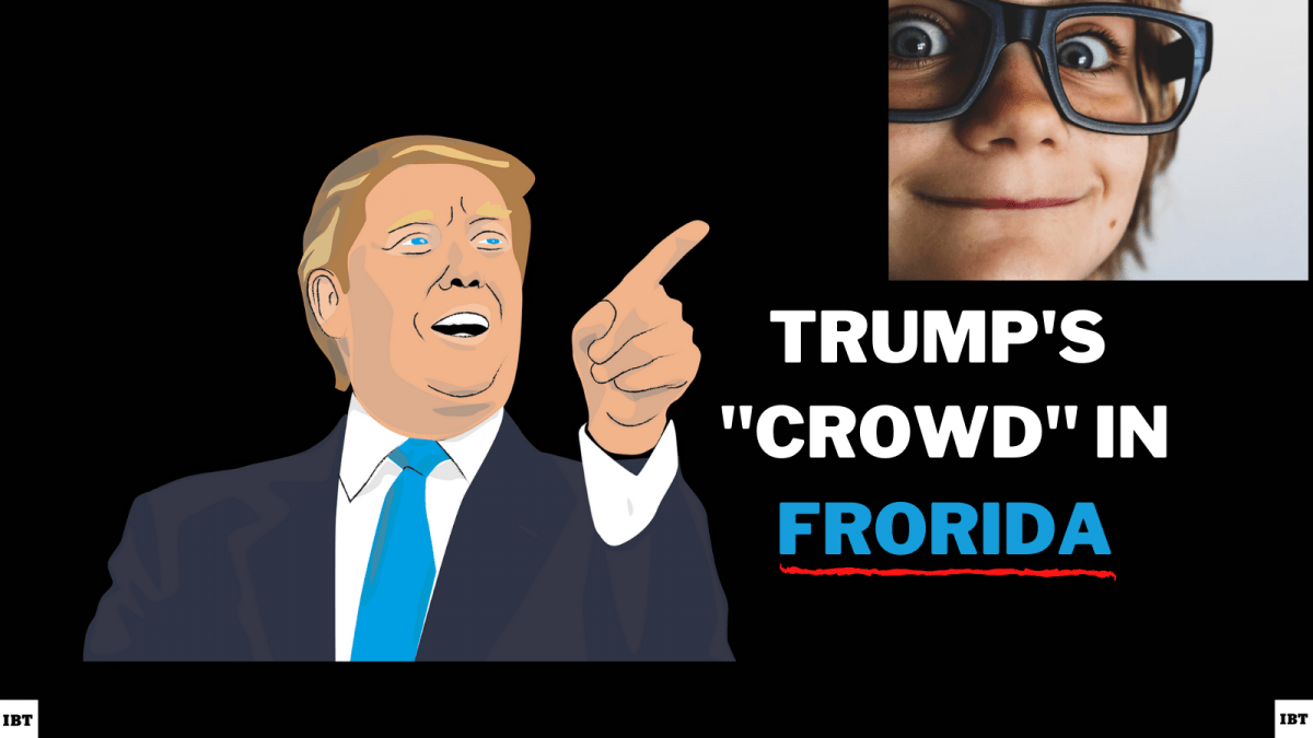 Donald Trump draws a massive crowd in Frorida but not in Florida for sure
