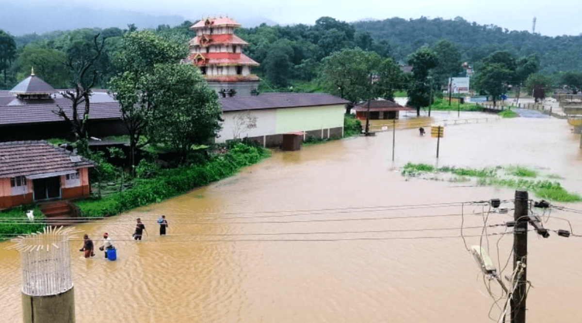 Karnataka disaster alert: Landslides, flood-like situation in few districts; govt releases Rs 50 cr