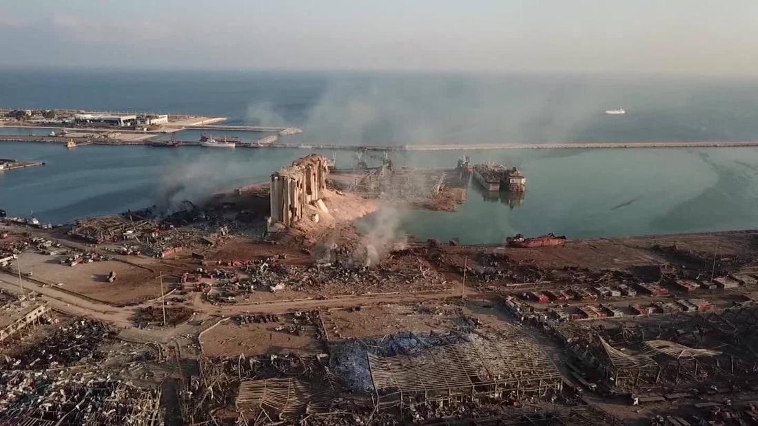 Actualizaciones en vivo: explosión de Beirut