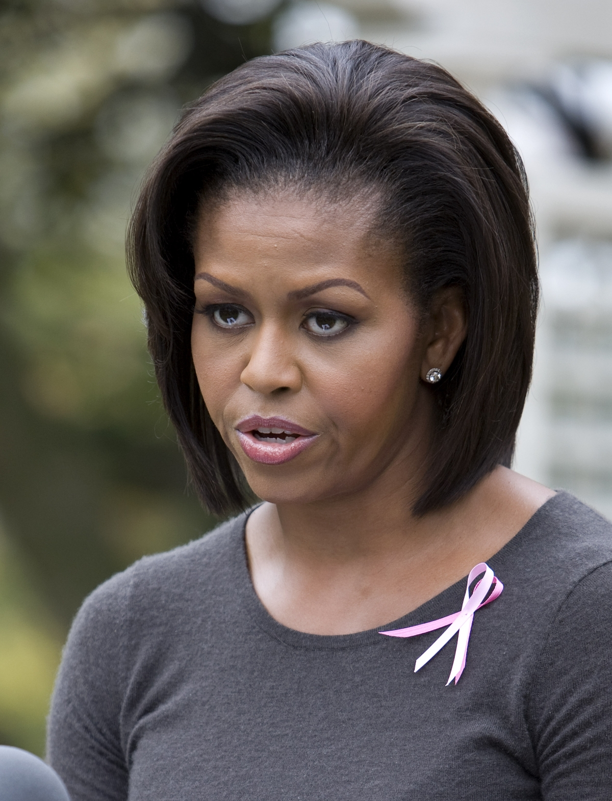 Michelle Obama says she has