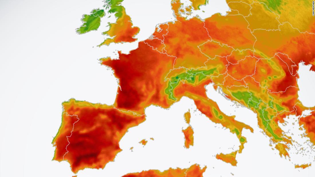 Pronóstico de ola de calor en Europa este fin de semana, nuevamente