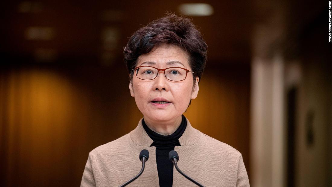 Carrie Lam: Estados Unidos sanciona al presidente ejecutivo de Hong Kong por represiones democráticas