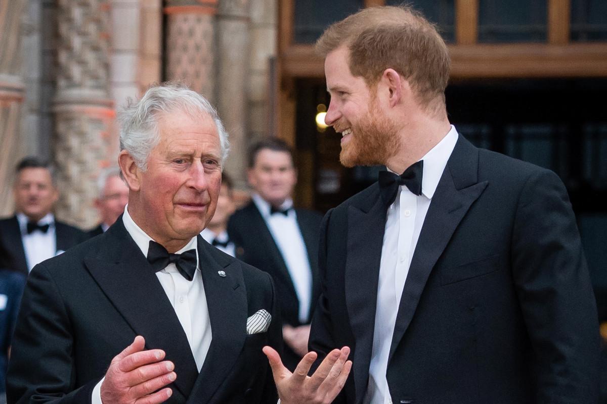 El príncipe Harry en contacto constante con Carlos para obtener apoyo.