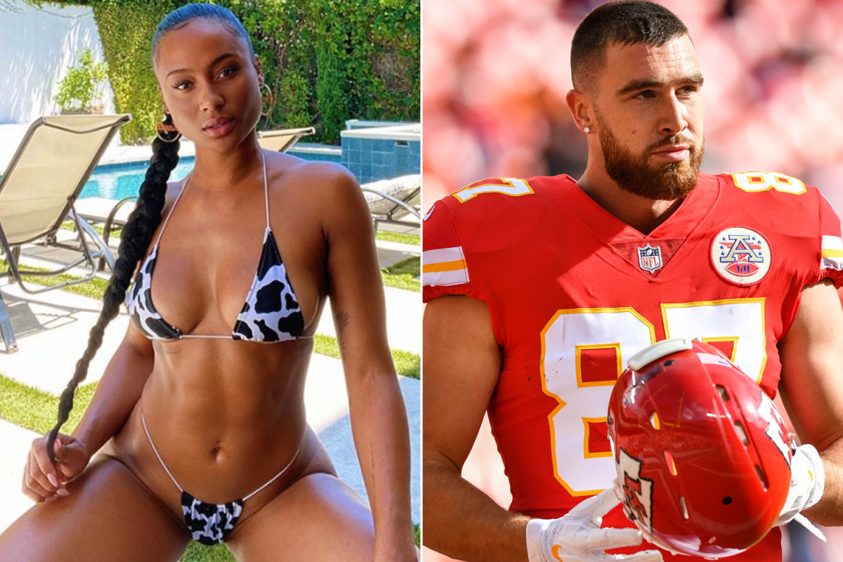 Kayla Nicole aturde en nuevas fotos en bikini después de la separación de Travis Kelce