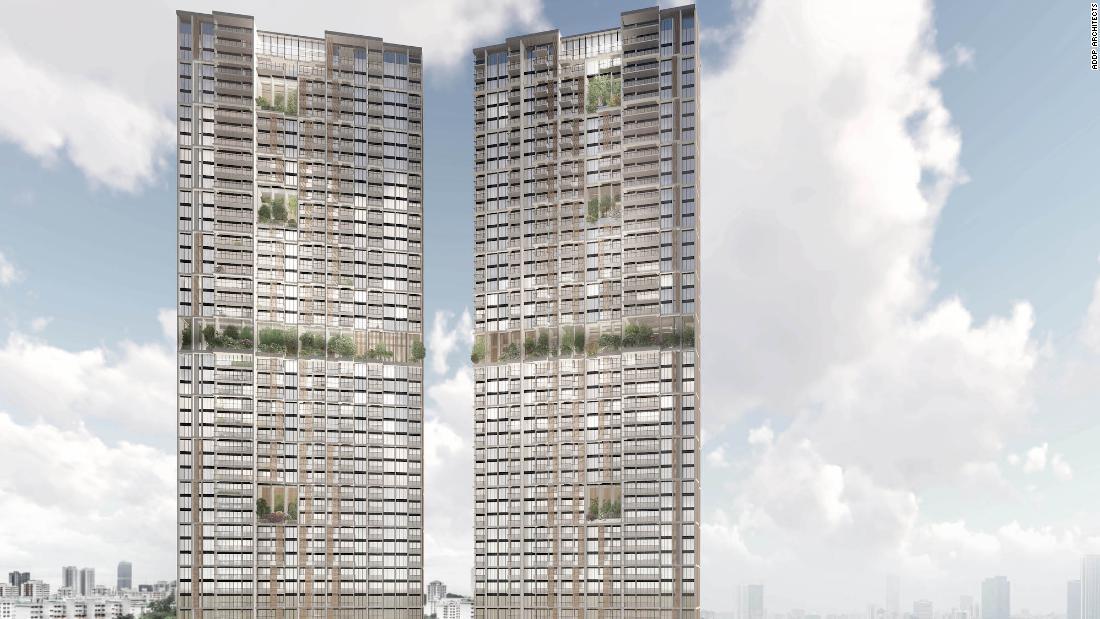 Los rascacielos prefabricados más altos del mundo se levantarán en Singapur