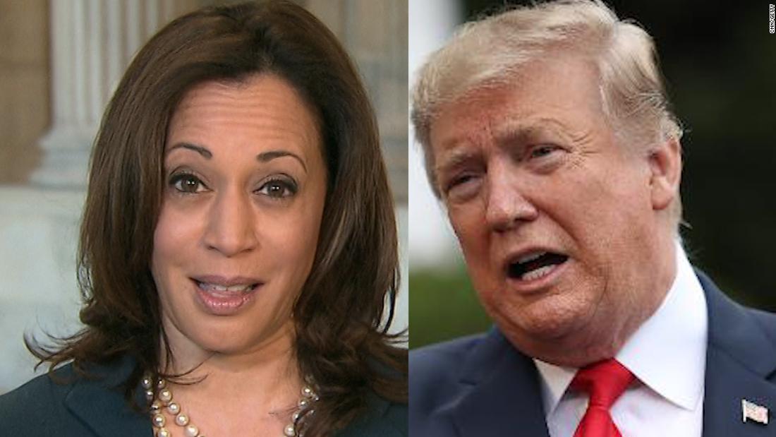Trump vuelve a los estereotipos mientras la campaña falla para responder a la selección de Harris