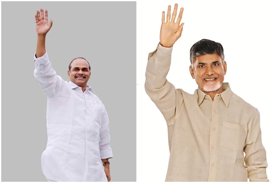YS Rajasekhara Reddy and Nara Chandrababu Naidu