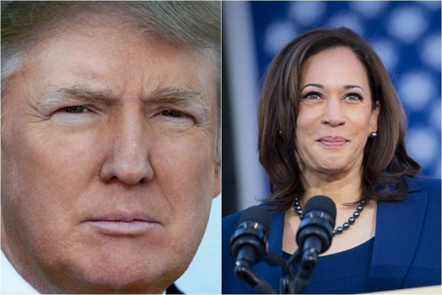 Donald calls Kamala Harris nasty, as Trump acts pure evil