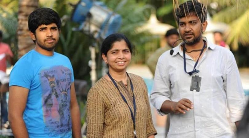 SS Rajamouli con su hijo Karthikeya y su esposa Rama