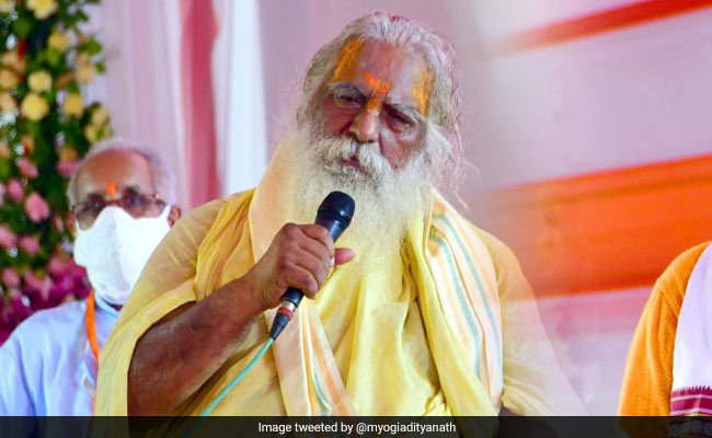 El director de Ram Temple Trust prueba la etapa positiva y compartida de Covid con PM en Ayodhya