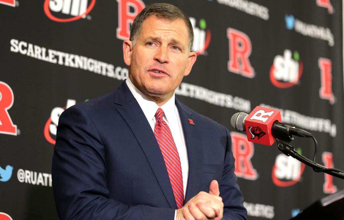 Greg Schiano busca aprovechar la pausa del coronavirus en beneficio de Rutgers