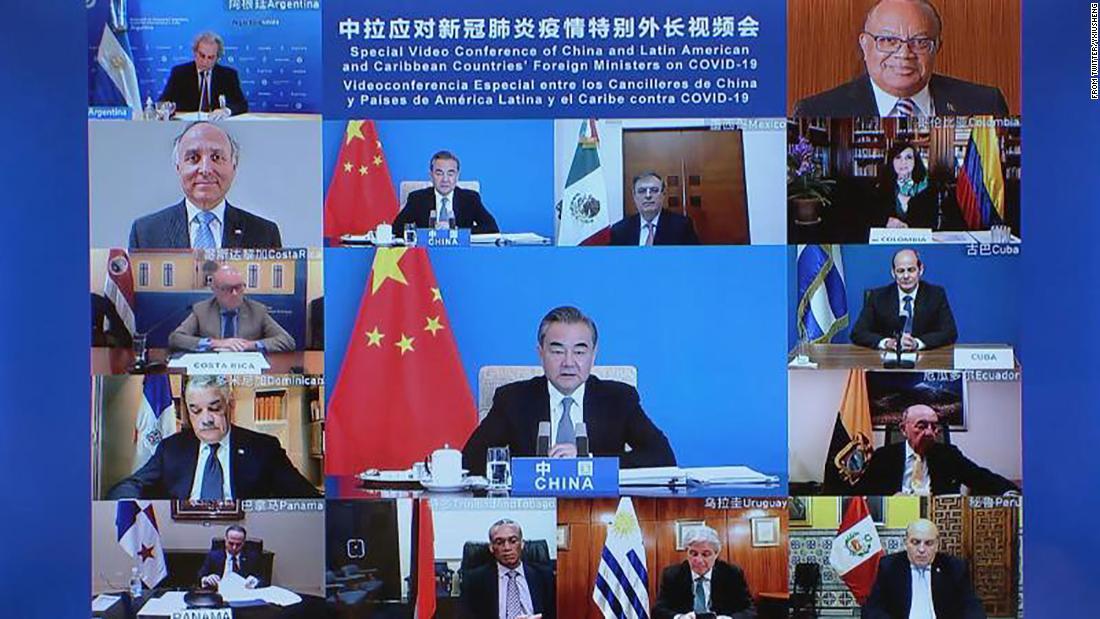 China y Estados Unidos compiten por influencia en América Latina