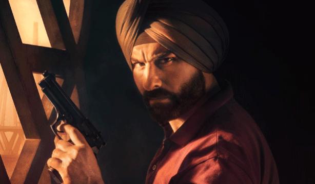 Saif Ali Khan en Sacred Games
