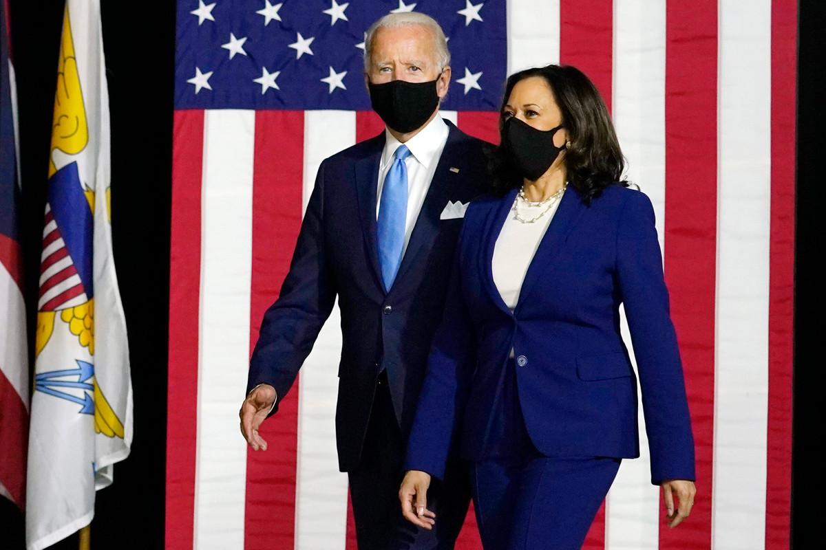 La mayoría de los estadounidenses aprueban a Kamala Harris como la elección de vicepresidente de Biden: encuesta