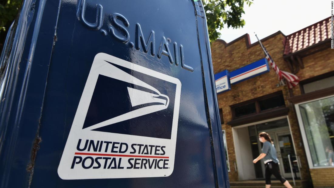 U.S. Postmaster General Louis Dejoy