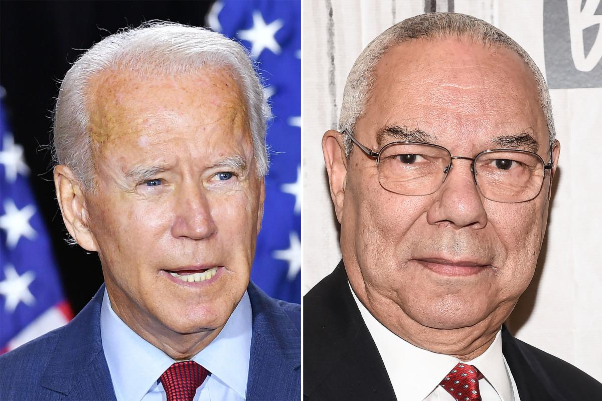 Colin Powell respalda a Biden y elogia al personaje en video de DNC