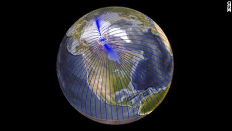 Los polos magnéticos itinerantes de la Tierra crean períodos más largos de inestabilidad, según un estudio