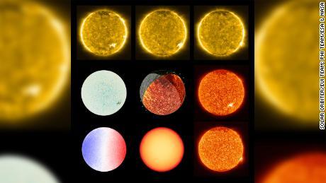 La misión Solar Orbiter comparte imágenes más cercanas del sol, revela & # 39; fogatas & # 39;  cerca de su superficie