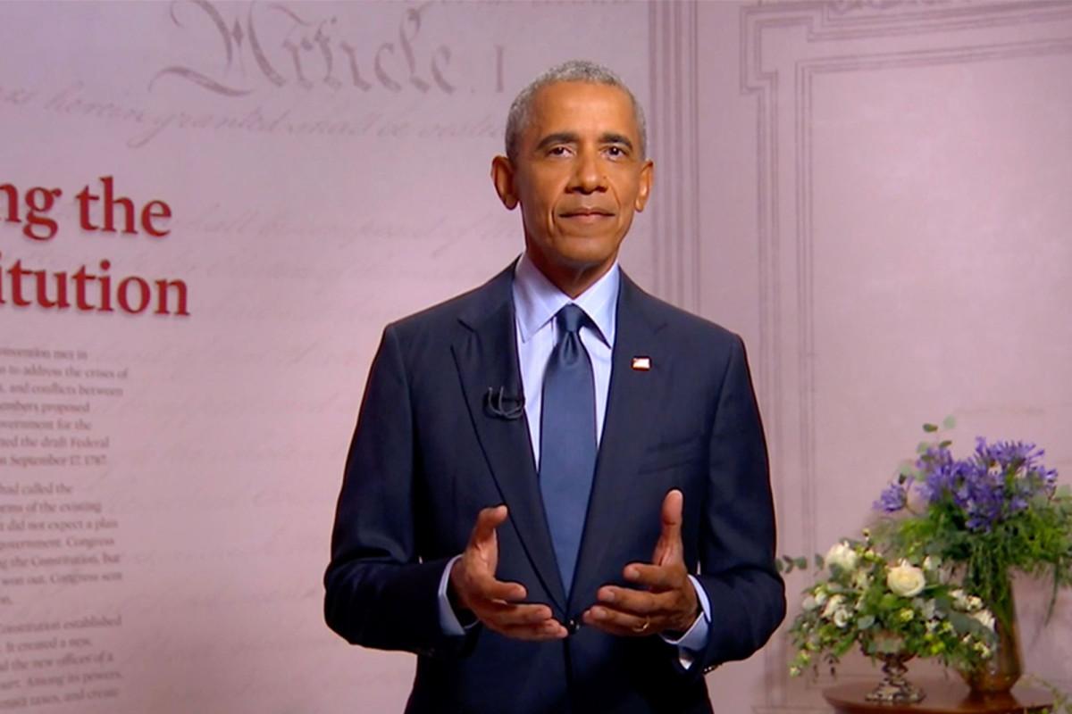 Obama acusa a Trump de dirigir a Estados Unidos como un 'reality show' en el discurso del DNC