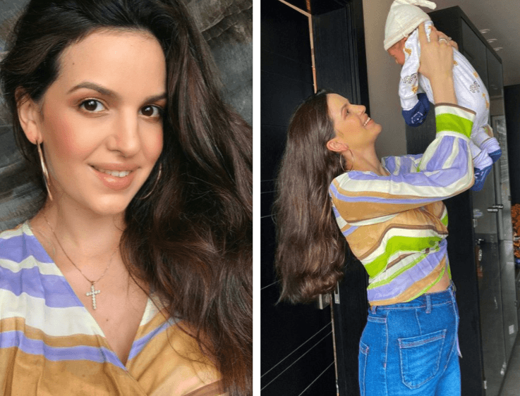 PICS: 20 Days after delivery, Natasa Stankovic looks like she was never pregnant