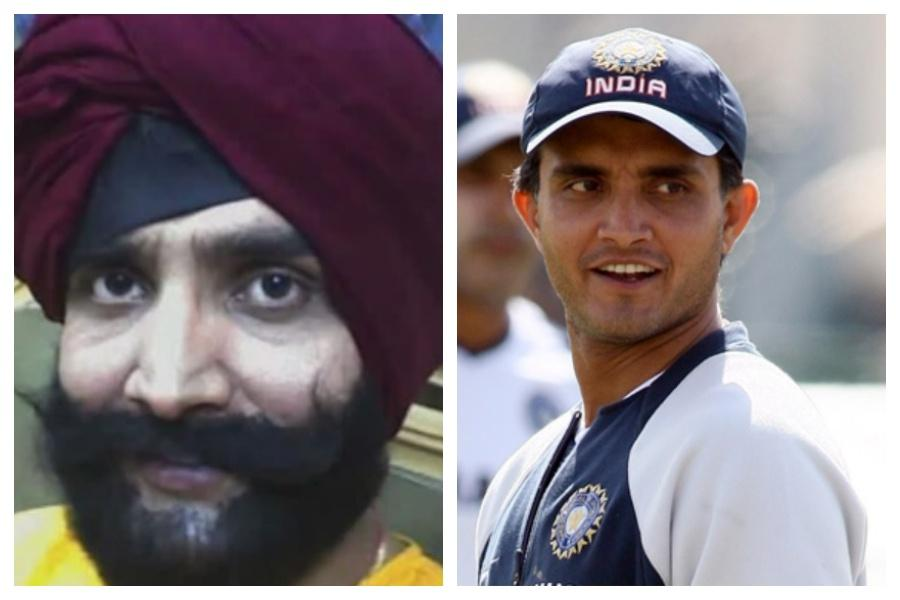 When Sourav Ganguly once disguised as a Sikh man, got caught by police