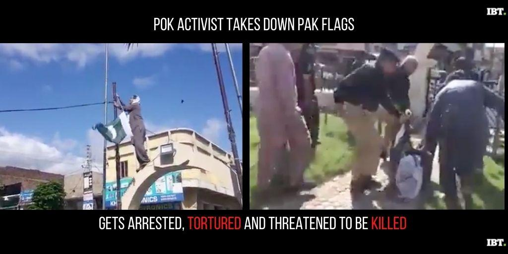 PoK Activist arrested