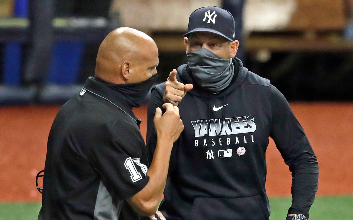 Dentro de la expulsión de Aaron Boone de los Yankees: 'Solo sobre la historia'