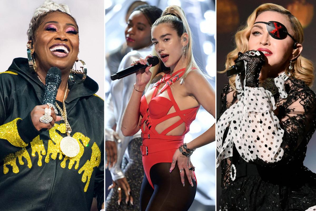 Dua Lipa se burla de la colaboración de 'Levitating' con Madonna y Missy Elliott