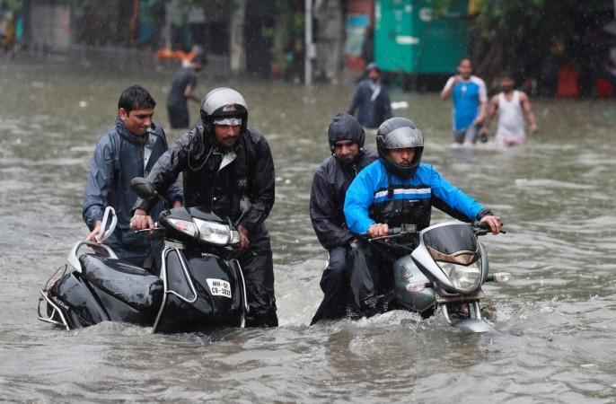 Lluvia de Mumbai