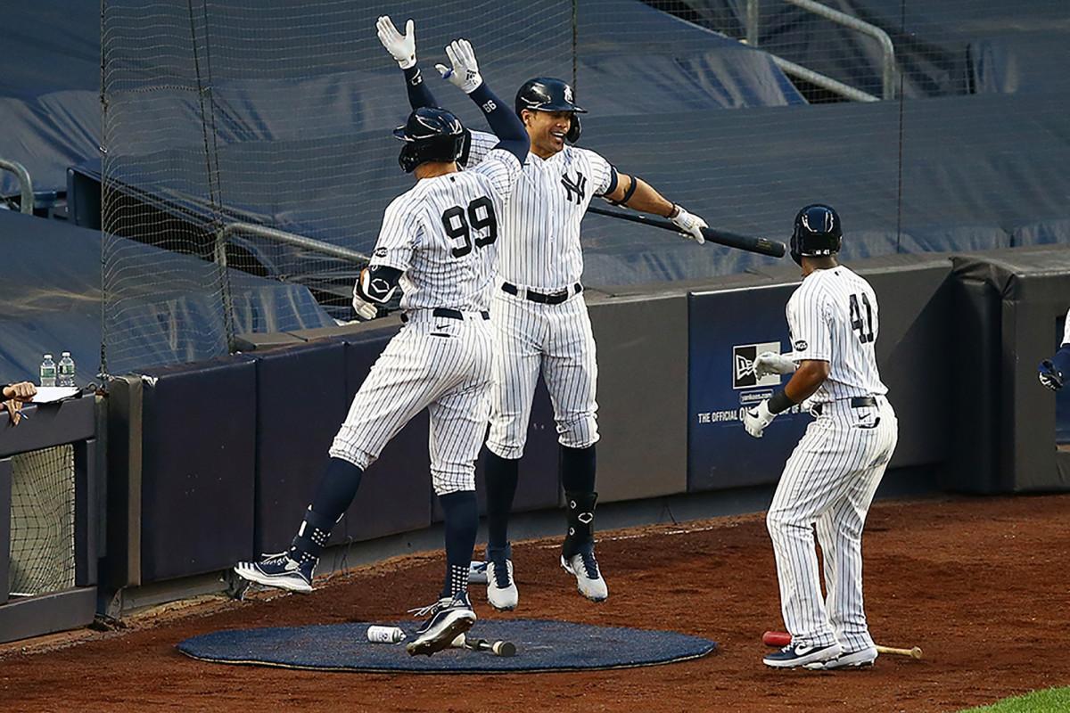 Giancarlo Stanton de los Yankees espera que un cuerpo más delgado lo ayude a evitar lesiones